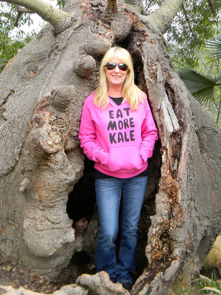 eaten by a tree