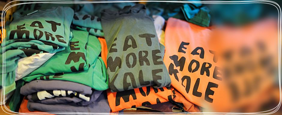 Eat More Kale Shirts